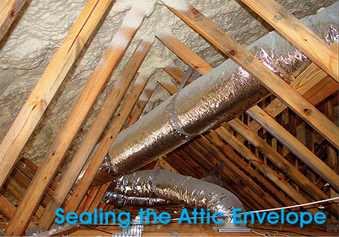 Alternative Construction Concepts - Sealing the Attic Envelope